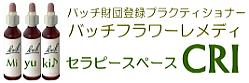 大阪のバッチフラワーレメディはCRIストレスケアに自然の力・フラワーエッセンス「バッチフラワーレメディ」は大阪のCRI